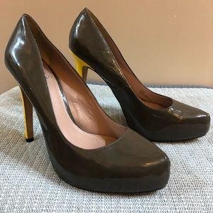 Vince Camuto Stilettos Pumps Yellow Heel Size 8